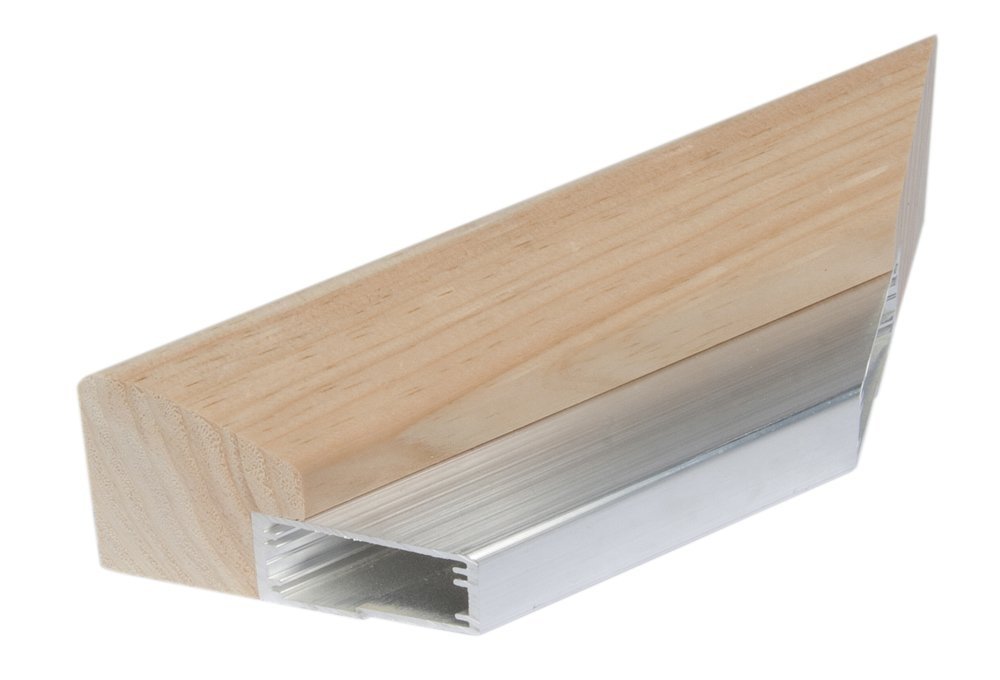 Jack Richeson 896066 Aluminum Gallery Wrap Stretcher Bar by Best, 66'' by Jack Richeson