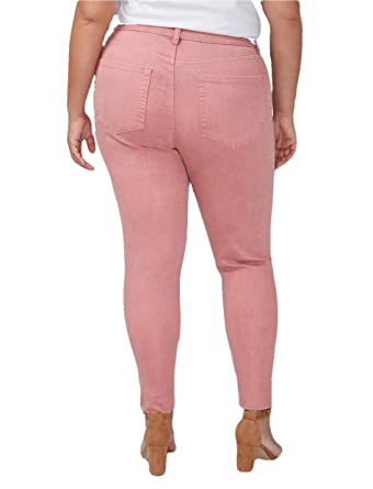 0c8b30ee8 Lane Bryant Rose Super Stretch Skinny Ankle Jeans with Power Pockets (16)