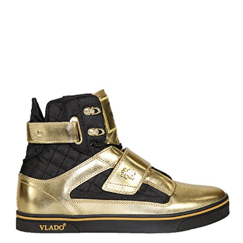 Top Gold II M Black Men's High VLADO Sneaker Microfiber Footwear Atlas Bw4wqOa