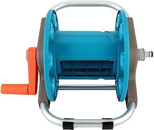 Portable Garden Water Hose Rack Garden Watering Trolley Washing Truck Hose Car Waterpipe Cart Storage Car Washer Tool