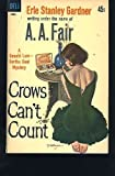 Crows Can't Count, A. A. Fair, 0380709473