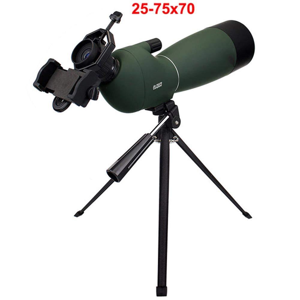 【保存版】 zmart 25-75x70mm 防水 単眼鏡 スポーツスコープ 望遠鏡 バードウォッチング 防水 スポーツスコープ 25-75x70mm 電話アダプタマウント 三脚付き B07J9XG612, 全国総量無料で:9c223646 --- en.mport.org