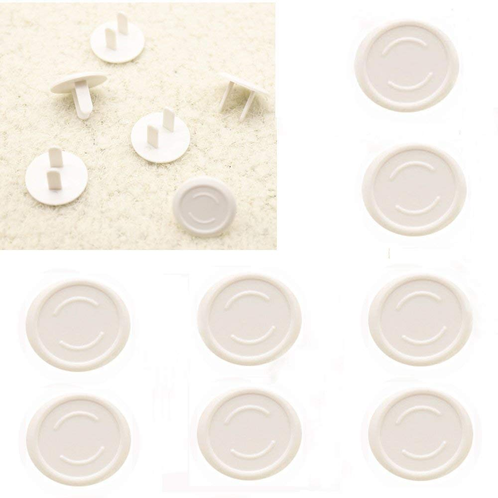 Outlet Plug Cover Baby Proof Electric Protector Safety Caps -50 Count, White