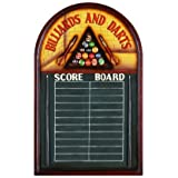 Billiards & Darts Wall Chalk Scoreboard