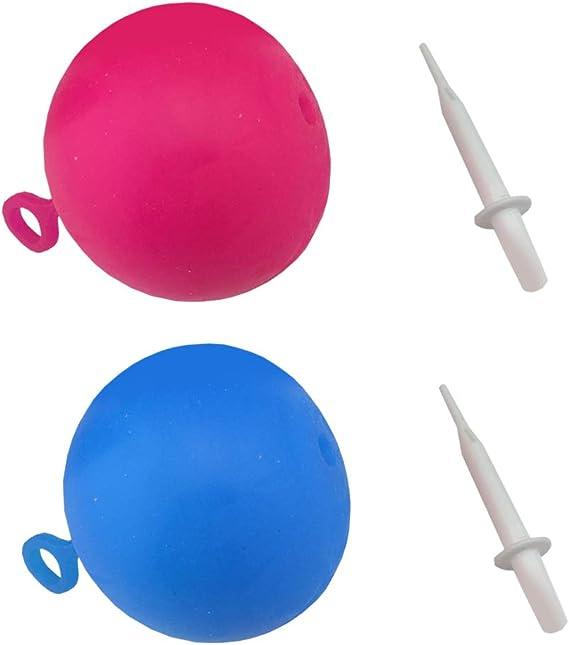 Bola de goma blanda rellenas inflable bola de la burbuja divertido ...