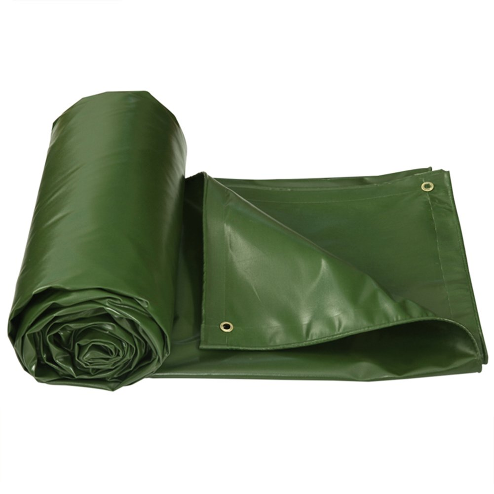 GLJ Gepolsterte Plane Regenschutz Tuch Schuppen Tuch Plane Plane Sonnenschutz Tuch Sonnenschutz Plane Im Freien Plane Plane (Farbe : Grass Grün, größe : 5x6m)