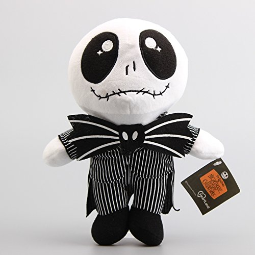 (Jack Skellington 10 Inch Toddler Stuffed Plush Kids Toys by kidsheaven)