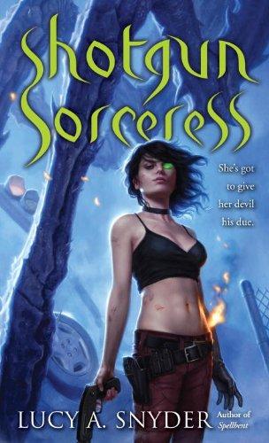 Shotgun Sorceress (Jessie Shimmer Book 2)