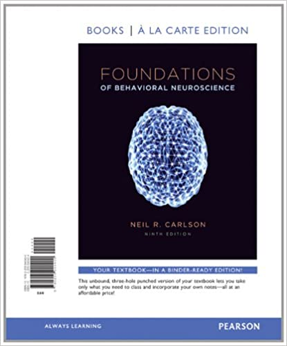 Foundations of behavioral neuroscience books a la carte edition foundations of behavioral neuroscience books a la carte edition 9th edition 9780205940400 medicine health science books amazon fandeluxe Image collections
