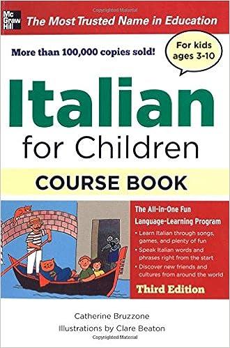 Italian for Children, Third Edition (Book & CDs): Catherine ...