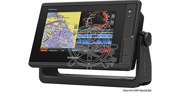 Garmin Chartplotter GPSMap 722xs GPSMap 722xs chartplotter: Amazon.es: Deportes y aire libre
