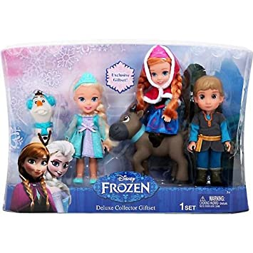 Frozen Pack 15 The Disney CmElsaAnna Frozen 5 Dolls Mini xhQrCtsd