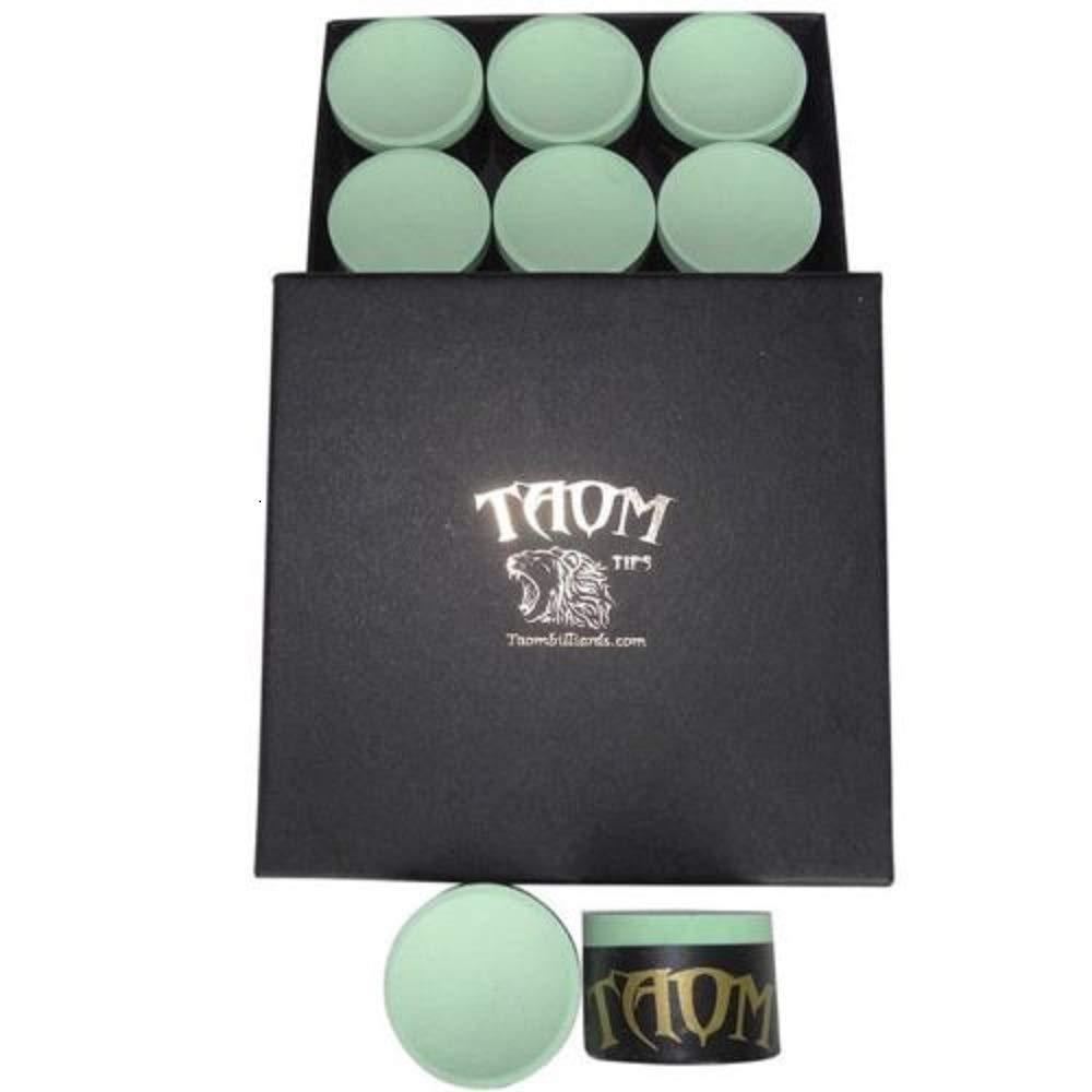 de Taom en color verde Tiza para tacos de billar