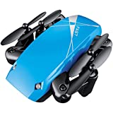 RC Drone with Camera, Anyren S9 Altitude Hold 0.3MP HD Camera 6-Axis Foldable WIFI RC Quadcopter Pocket Drone (Blue)
