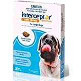 Interceptor for Large Dogs 6 Tasty Chews Pet Meds