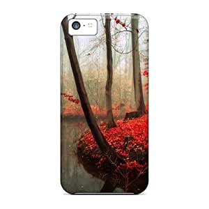 88caseme Iphone 5c Well-designed Hard Cases Covers Beautifull Forest Protector