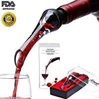Baen Sendi Wine Aerator Pourer - Aerating Wine Pourer - Premium Wine Decanter