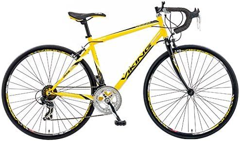 viking Pro Racing - Bicicleta de Carretera para Hombre Amarillo ...