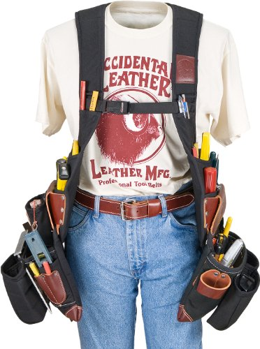 Occidental Leather 2580LH SuspendaVest OxyLight Package - Left Handed (Left Handed Tool Belt)