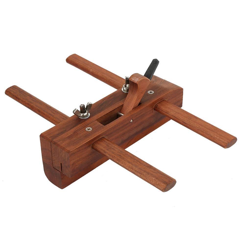 Woodworking Rosewood Hand Plane Kit Furniture Music Instrument DIY Grooving Wood Planer for Carpenter