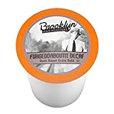 Brooklyn Beans Single Serve Style Coffee Cups - 24 Count (2.0 Compatible) (Fuhgeddaboutit Decaf)
