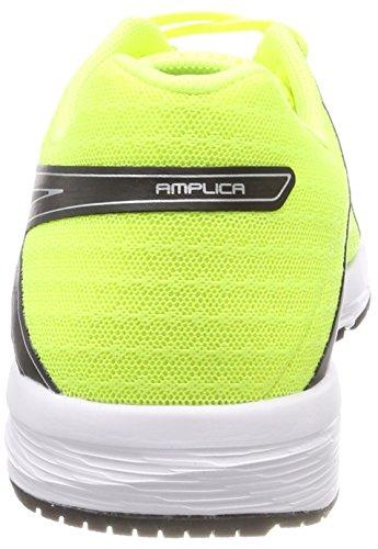 Hombre Yellow 9093 Asics Black Zapatillas Silver Negro Safety de Running Amplica para 77xf1wXqg