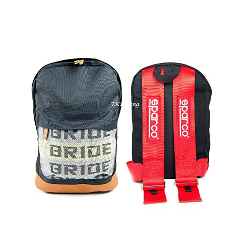 bride-jdm-racing-backpack-racing-harness-shoulder-straps-zipper-pockets-w-padded-computer-compartmen