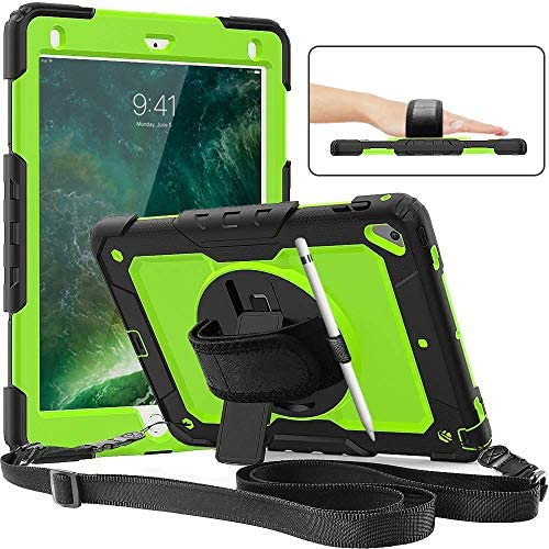 Protector Protective Durable Rotatable Tablet Green