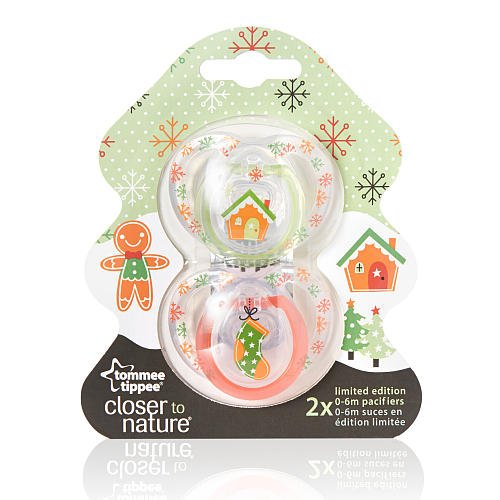 Amazon.com: Tommee Tippee Closer to Nature Chupetes 2-Pack ...