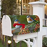 FEDDIY Mailbox Covers, Magnetic Mailbox Wraps Post