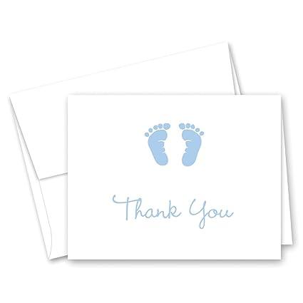 Amazon.com: 50 unidades de tarjetas de agradecimiento de ...