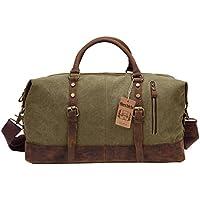 Berchirly Canvas Unisex Sports Duffel Bag (Army Green)