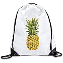 Unisex Pineapple Sports Drawstring Backpack Bag Cool