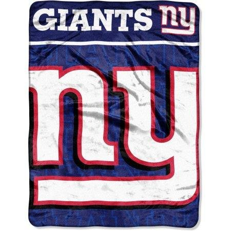 ddaa57215 Image Unavailable. Image not available for. Color  The Northwest Company  NFL New York Giants 46 quot  x 60 quot  Micro Raschel Throw Blanket