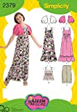 Simplicity Sewing Pattern 2379 Girl's and Girl's Plus - Best Reviews Guide