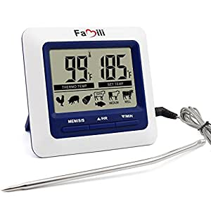 Famili mt 004 term metro digital para comida carne cocina for Termometro digital cocina