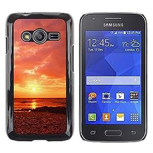 iKiki Tech / Estuche rígido - Sunset Beautiful Nature 63 - Samsung Galaxy Ace 4 G313 SM-G313F