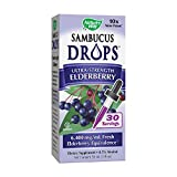 Nature's Way Sambucus Drops Ultra-Strength Elderberry Liquid, 1 Fluid Ounce Review