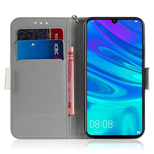 Amazon.com: Artistic Painted Leather Wallet Case for Huawei ...