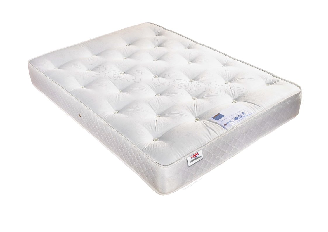 Mattress 123 Little House Brampton Cot Bed White Mattress
