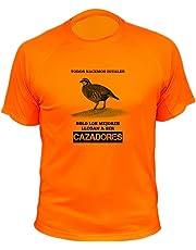 Camisetas de Caza, Todos nacemos Iguales, Perdiz roja - Ideas Regalos