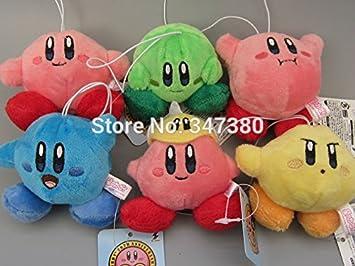 Amazon.com: Super Mario Bros Kirby de peluche Juego de Kirby ...