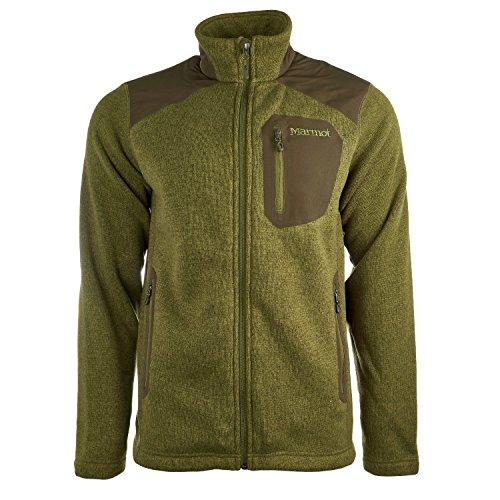 Marmot Men's Wrangell Jacket (Medium, Bomber Green/Forest Night) (Yd Forest Green)