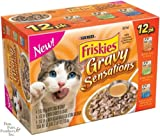 Cheap Friskies Gravy Sensations Variety Pack Pouched Cat Food 12 – 3oz Pouches
