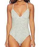 Splendid Women's Picturesque One Pice Swimsuit, Olive, S
