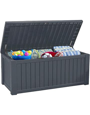 Koll Living Auflagenbox Kissenbox 570 Liter L 100 Wasserdicht Mit Beluftung Dadurch Kein