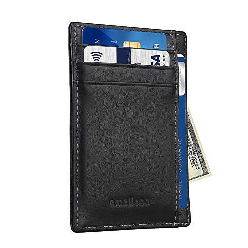 rfid-blocking-slim-wallet-minimalist-front-pocket-wallet-made-of-full-grain-leather