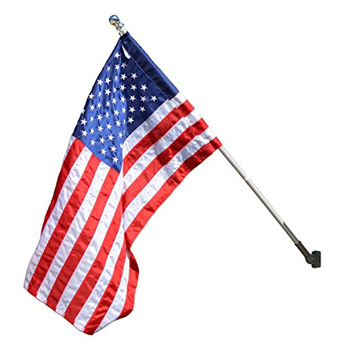 Valley Forge Flag 3 x 5 Foot Standard US American Flag Kit,