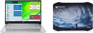 "Acer Swift 3 Thin & Light Laptop, 14"" Full HD IPS, AMD Ryzen 7 4700U Octa-Core Processor with Acer Predator Ice Tunnel Mousepad"