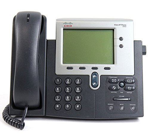 Cisco CP-7942G Unified Ip Phone 7942(Renewed) ()